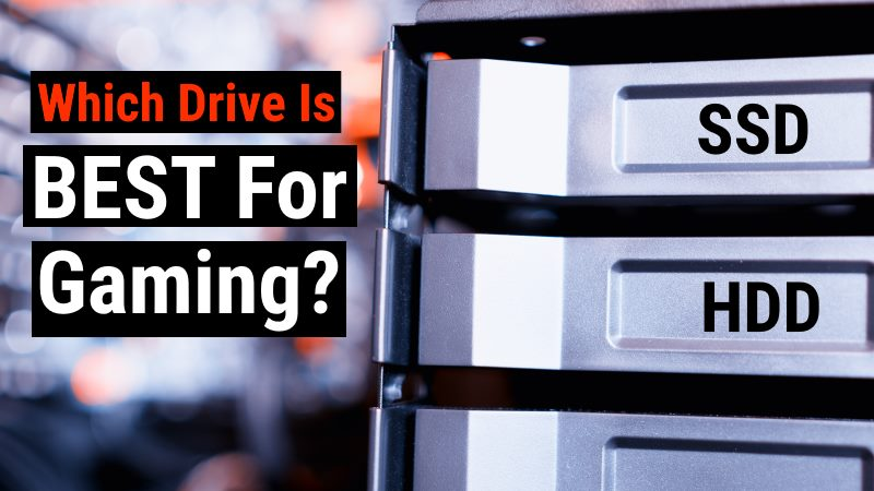 SSD vs HDD Gaming Drive
