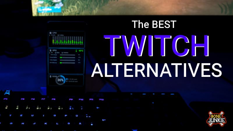 streaming sites like Twitch